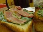 懒人早餐烧烤培根三明治