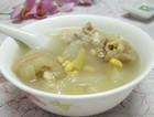 雪梨黄豆猪手汤