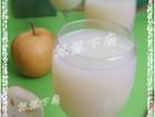 鲜藕榨梨汁
