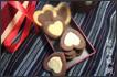双心形饼干