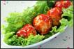 茄汁鸡肉丸