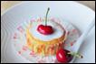 樱桃酸奶蛋糕
