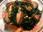 韭菜炒老豆腐