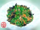 素三色韭菜木耳胡萝卜