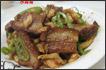 萝卜干炒东坡肉
