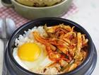 花样韩式鱿鱼拌饭