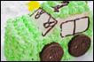 小汽车生日蛋糕