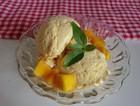鲜芒果冰淇淋
