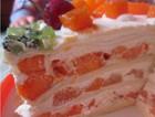 芒果可丽饼千层蛋糕