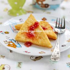 草莓酱西多士
