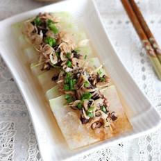 虾皮香菇蒸冬瓜
