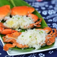 粽香糯米蒸蟹