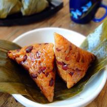 桂花蜜豆蜜枣粽子