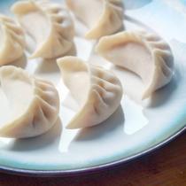 香菇猪肉胡萝卜饺子