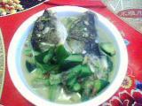 鱼头丝瓜煲