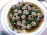 肉泥蒸丝瓜