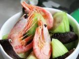 丝瓜香菇北极虾