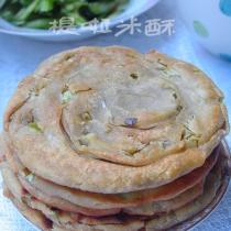 杂粮葱油饼