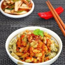 杂粮豆角麦饭