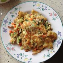 DIY蔬菜鸡蛋煎饼