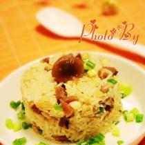 茶树菇炒饭