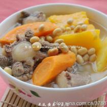 木瓜黄豆牛尾汤