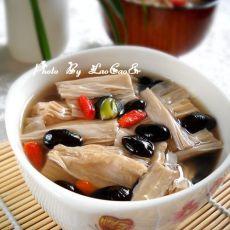 黑豆冰糖炖腐竹