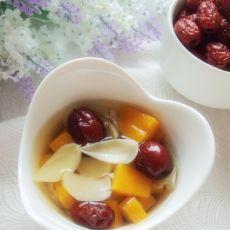 南瓜红枣百合汤