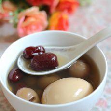 红枣桂圆当归煮蛋