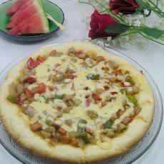 电饭锅版比萨
