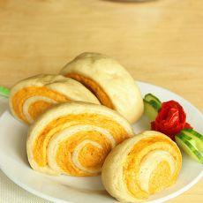双色番薯馒头卷
