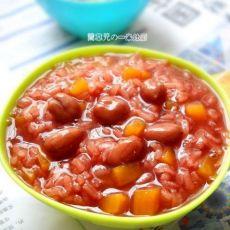 花生红薯糯米粥