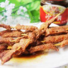 沙茶烤肉串