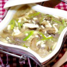 冬菇豆腐羹