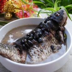 鲫鱼黑豆汤