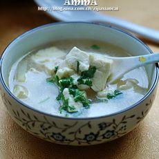 鲢子头豆腐汤
