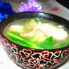 链鱼头豆腐汤