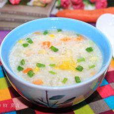 鸡蓉粟米粥