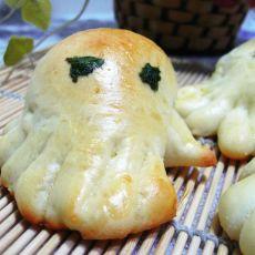 小章鱼面包