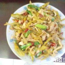 泡椒炒肉丝