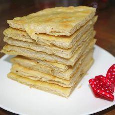 豆渣葱花饼