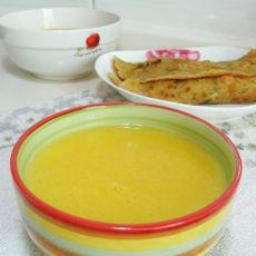 小米南瓜浓汤
