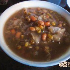 红绿豆银耳汤