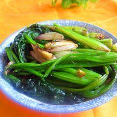 洋葱炒菠菜