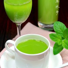 薄荷果蔬汁