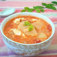 土豆番茄鸡蛋汤
