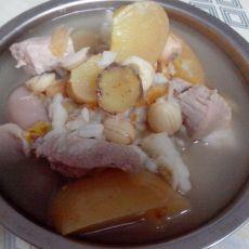 苹果煲瘦肉