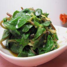 蒜泥蚂蚱菜