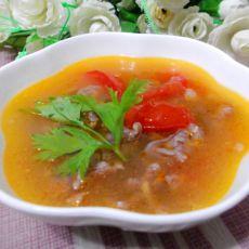 快速牛肉番茄汤