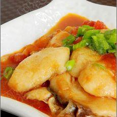 番茄炒鱼片